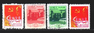 Vietnam. 1978. 986-89. Vietnam proclamation. USED.