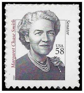#3427 58c Distinguished Americans Sen. Margaret Chase Smith 2007 Mint NH
