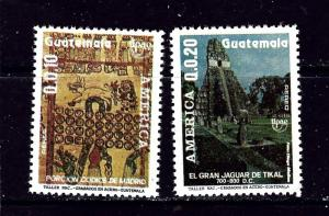 Guatemala C834-35 MNH 1990 America Issue