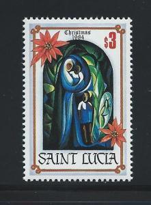 St. Lucia #705 MNH Single