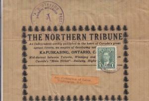 194X, Kapuskasing, Canada to Washington, DC, WRAPPER, See Remark (32032)