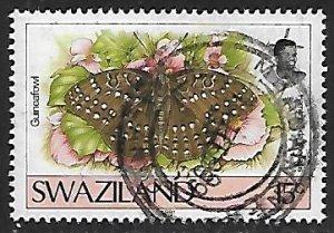 Swaziland # 602 - Guineafowl - used....{BRN17}