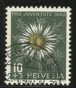Switzerland Semi Postal 1943 Scott# B127 Used
