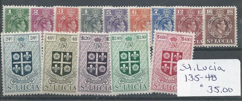 St. Lucia 135-48 LH