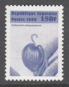 Togo 1873 Flower MNH VF