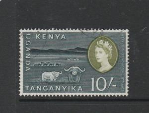 KUT 1960/2 Defs 10/- FU SG 197