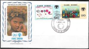 Cabo Verde  FDC International Year of the Child 1979