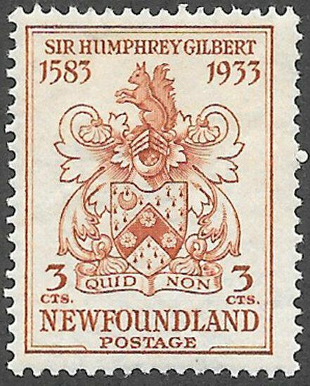 Newfoundland Scott Number 214 F HR