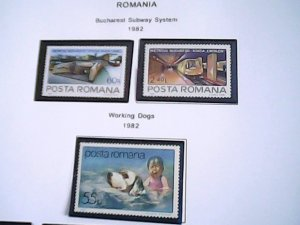 1982  Romania  MNH  full page auction