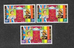 Ethiopia C86-C88 Mint NH MNH!