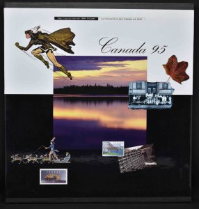 CANADA 1995 Souvenir Stamp Collection, USA delivery only.