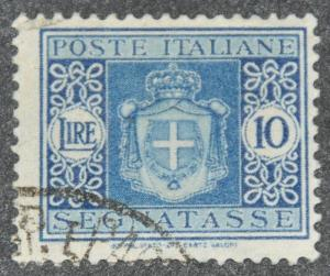 DYNAMITE Stamps: Italy Scott #J63 (crease) – USED