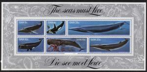 South West Africa 442a MNH Whales