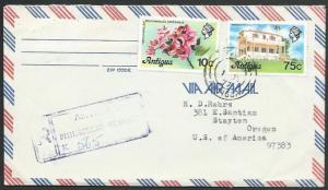 ANTIGUA 1977 Registered cover to USA.......................................56640