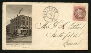 ADV COVER Talcott and Post Carpets & Paper Hangings Hartford CT CDS Sc #65