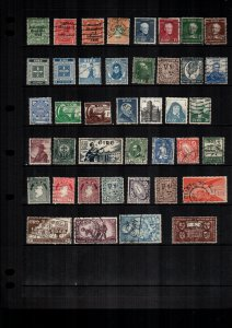 Ireland  MH  and used lot of 36 cat $60.00
