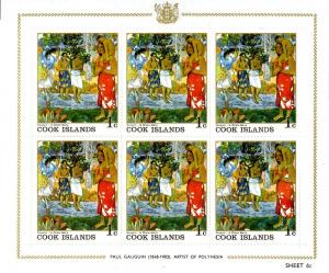 Cocos Island 221-6 S/S MNH  6 sheets of 6 SCV $17.50