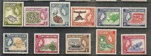 Pitcairn Isl.  20-30 Mint OG 1957 QEII Pictorial Definitives
