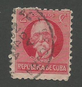 1918 Cuba Scott Catalog Number 266 Used