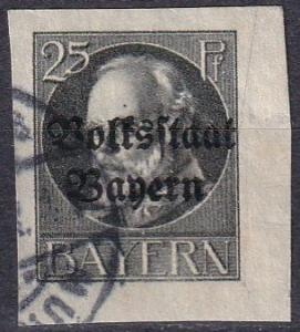 Bavaria #162 F-VF Used CV $20.00 (A18309)