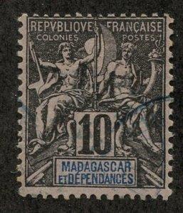 Madagascar, Scott #33, Used