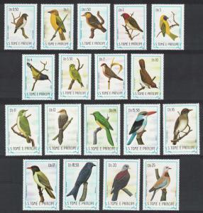 Sao Tome Birds 18v SC#727-744