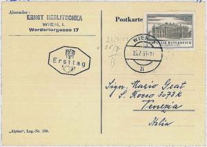 29846     ART \ THEATRE : AUSTRIA - CARD 1955