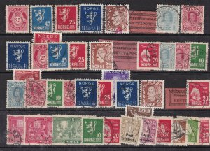 NORWAY ^^^^  x42  used  CLASSICS+ others   $51.00@ dc531nor