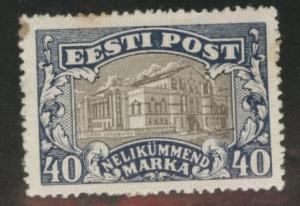 Estonia Scott 83 MH* tone spots in paper and gum CV$10