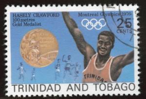 Trinidad Tobago Scott 267 Used CTO 1976 Olympic stamp