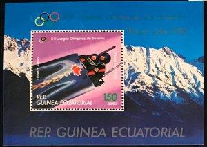 Equatorial Guinea #MiBl290 MNH S/S CV€6.00 Olympics