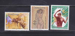 Luxembourg 743-745 Set MNH Various (B)