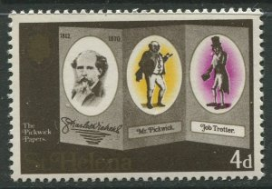 STAMP STATION PERTH St Helena #232 Charles Dickens 1970 MNH