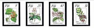 Fiji 495-98 MNH 1983 Flowers