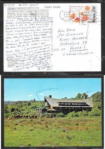 1984 Kenya 2/50 Nairobia (19 Sep) ppc Czechoslovakia