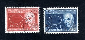Greenland 66-67,   VF, Used  CV $ 5.30 ....2510026