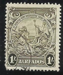 Barbados SC176 Used VF