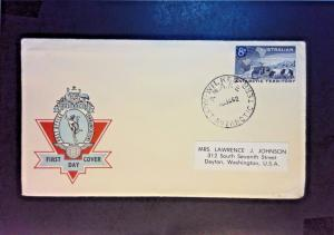 Australia Antarctic Terr. 1962 First Day Cover / Wilkes Cancel - Z982