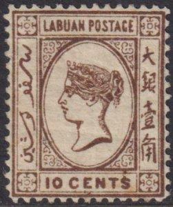 Labuan 1882 SC 45 MLH