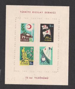 TURKEY SC# RA160a VF MNH 1952