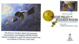 Project Mercury/MESSENGER First Day Cover, with DCP   #3