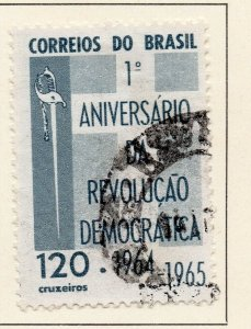 Brazil 1965 Early Issue Fine Used 120Cr. NW-98492