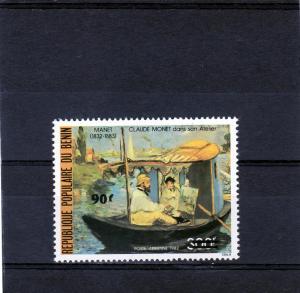 Benin 1984 Claude Monet/Manet Famous Ptgs.(1) MNH Sc# C326