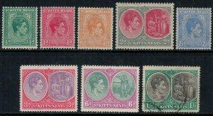 St. Kitts-Nevis #79-86*/u  CV $11.65