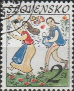 Slovakia, #242  Used , From 1996,  CV-$0.25