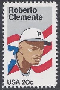#2097 20c Roberto Clemente 1984 Mint NH