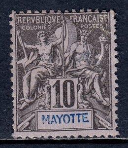 Mayotte - Scott #4 - MLH - Regummed - SCV $4.75
