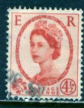 Great Britain; 1958: Sc. # 360: O/Used Single Stamp