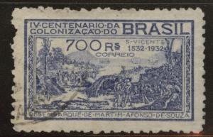 Brazil Scott 363 Used 1932 wmk 101