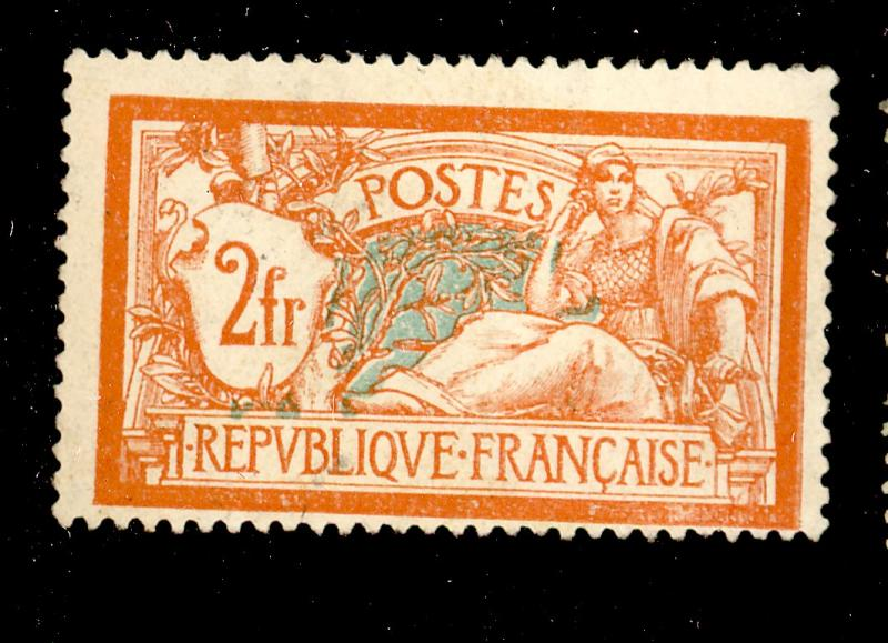 France #127 MINT F-VF No gum Cat$42.50